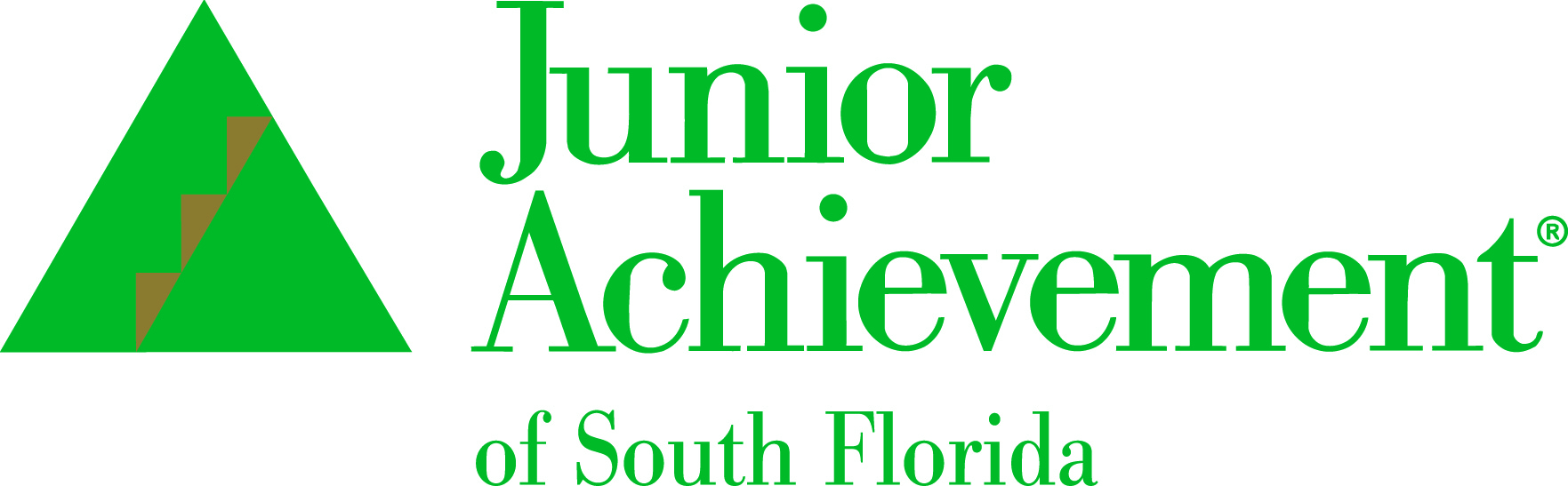 JA of South Florida Green Gold logo